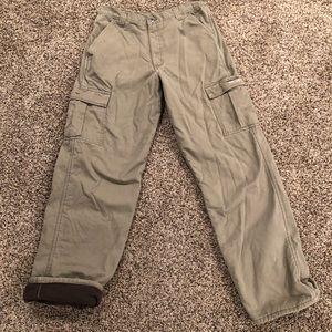 Wrangler Fleece lined pants